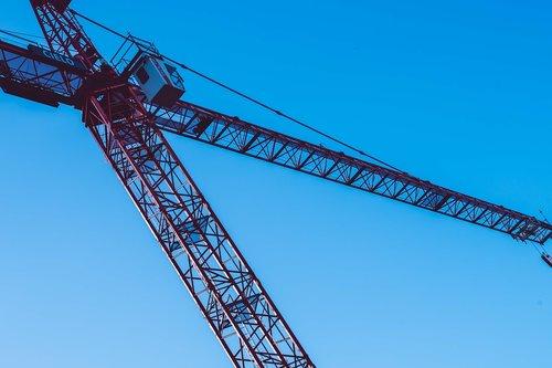 crane  metal  boom