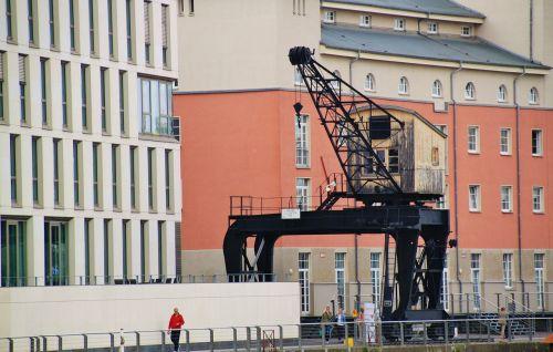 crane kranhaus lifting crane