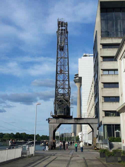 crane port düsseldorf