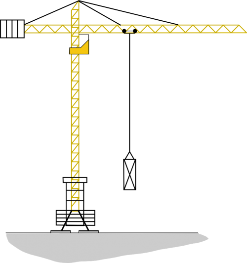 crane high construction
