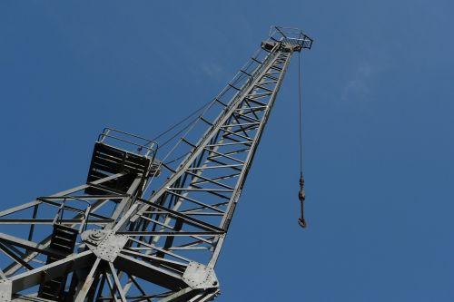 crane jib sky