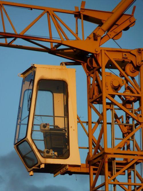 crane driver's cab high