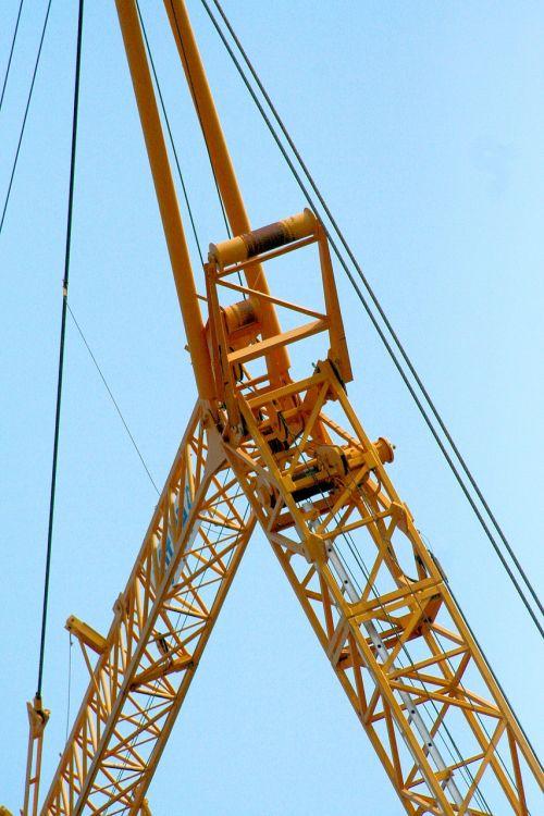 crane sky cables