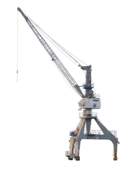 crane port isolated