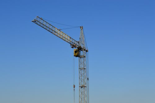 crane construction housing