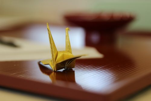 origami crane japan