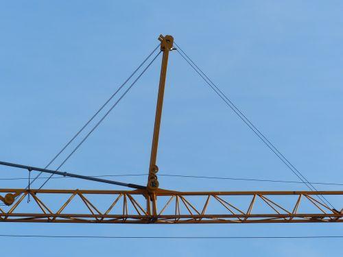 crane baukran site