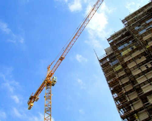 Crane High Rise Construction