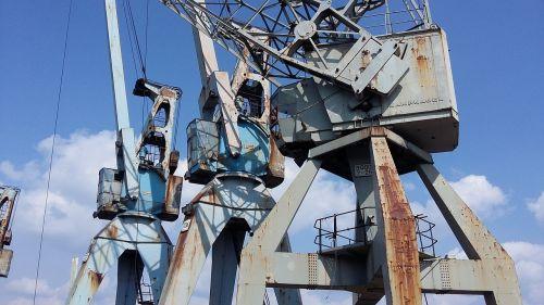 cranes harbour cranes museum