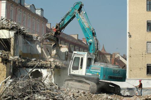 crash site crane