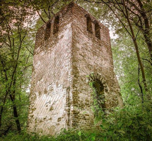 crash  forest  castle