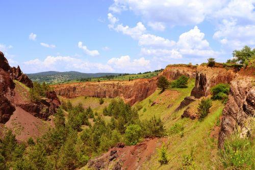 crater racos extinct volcano