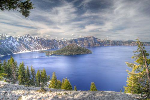crater lake oregon national park