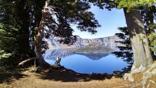 crater lake wizard island oregon