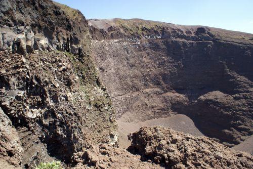 Crater Of Vesuvius