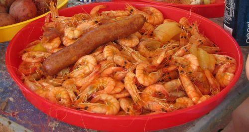 crawfish shrimps prawns