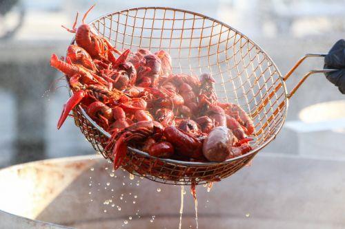 crawfish seafood food