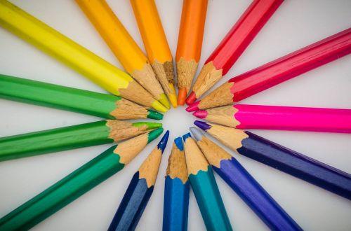 crayon colour pencil