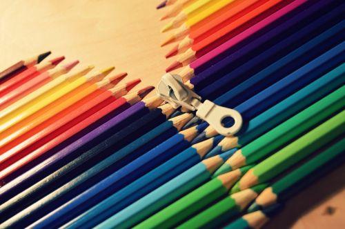 crayons colors art