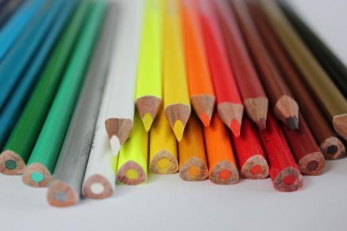 crayons crayon color