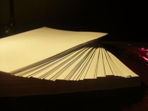 Cream Ream Of Paper