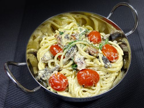 creamy pasta italian olive oil