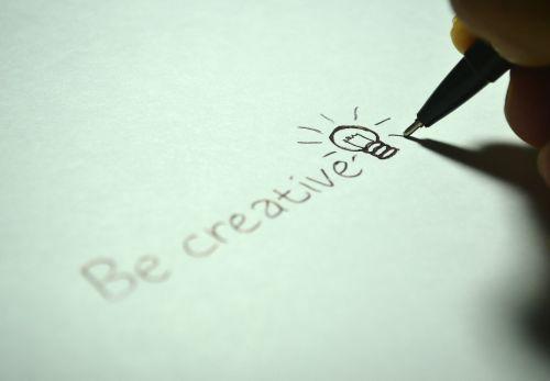 creative be creative write