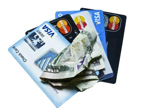 credit card money cash