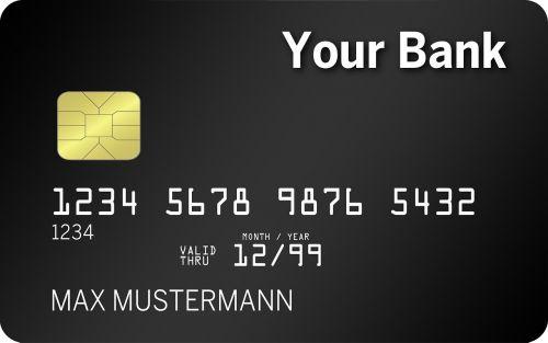 credit card credit map