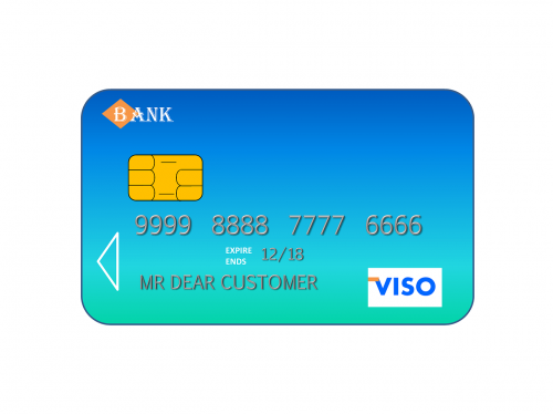 credit card visa credit
