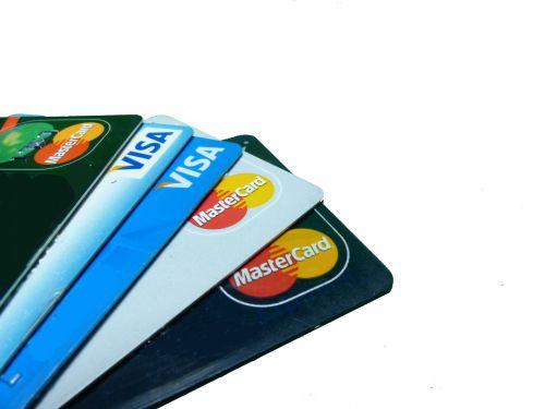 mastercard, viza, cc, kreditas, kortelės, pinigai, kreditinės kortelės
