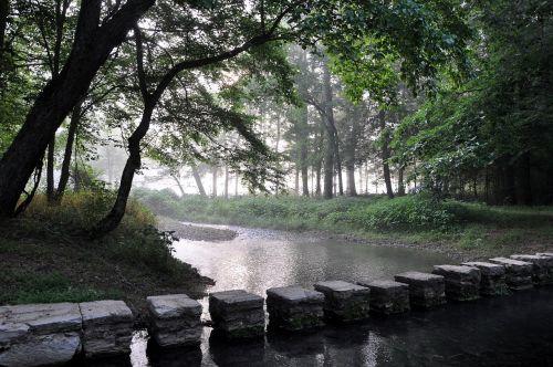 creek stepping stones natchez trace