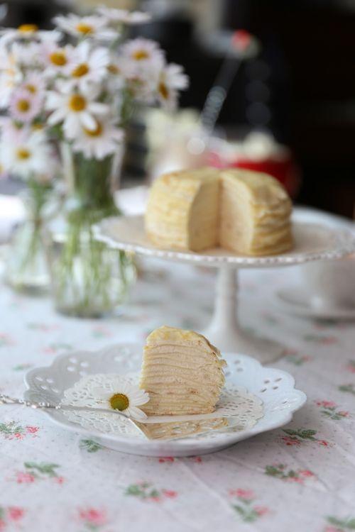 crepe cake cake dessert