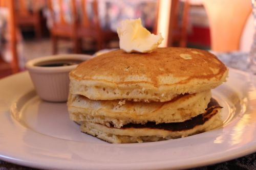 crepes pancakes food