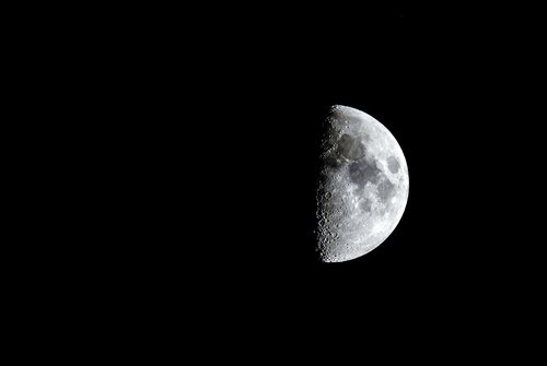 crescent  moon  night