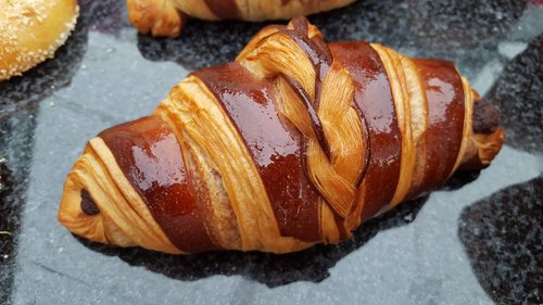 crescent  pastry  coffee
