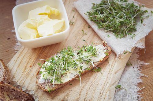 cress green cress bread