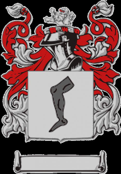 crest arms heraldry