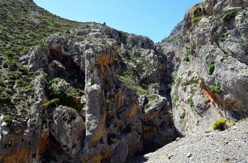 crete gorge kourtaliotiko gorge