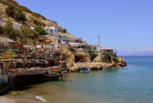 crete matala greek island