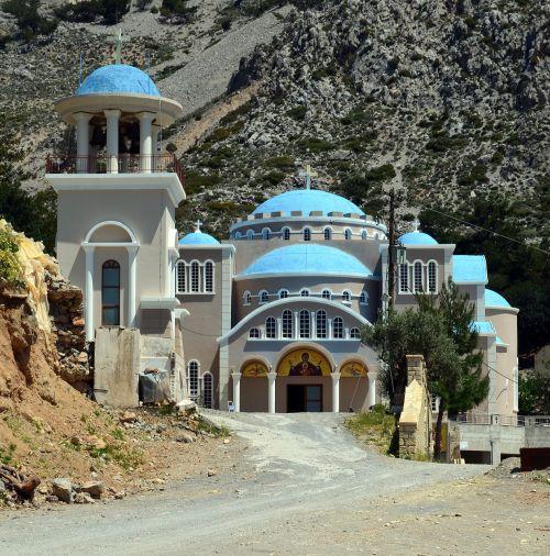 crete monastery monastery of agios nikolaos