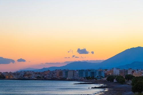 crete greece landscapes
