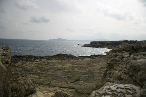 Crete Greece Rock Formations Ocean