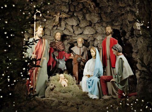 crib dominicans christmas