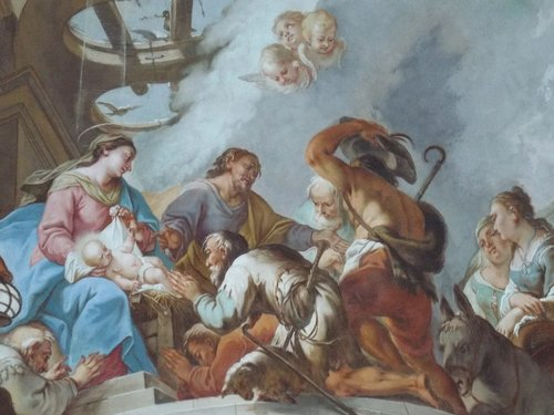 crib  painting  ceiling painting