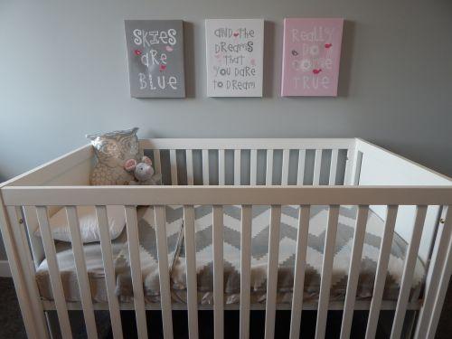 crib nursery baby