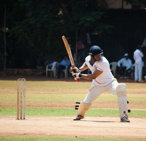 cricket batsman shot