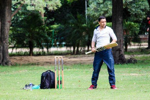 cricket employee play