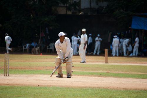 cricket practice batsman