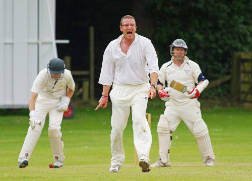 cricket bowler howzat